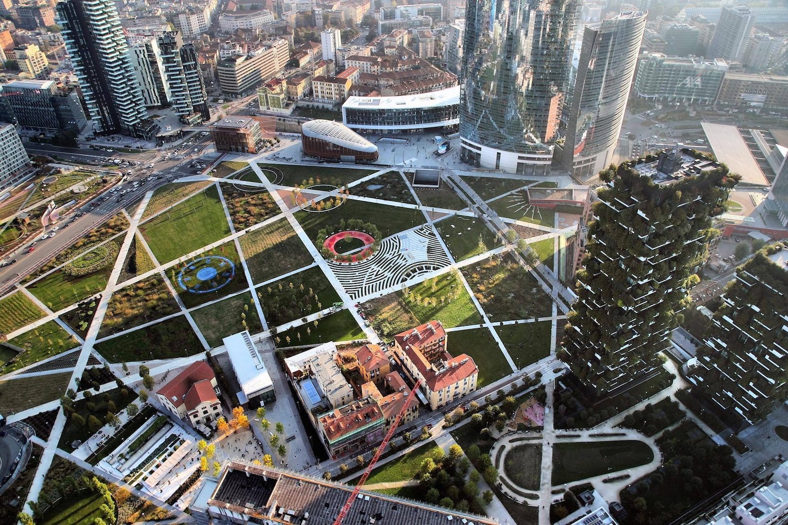 Studio Architettura Paesaggio Milano the new milan is green. and designs its urban future through